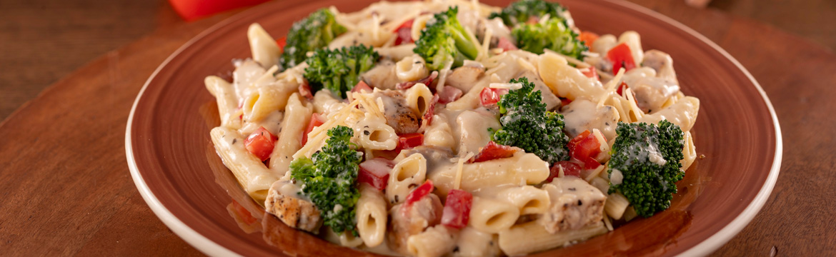 Pasta Alfredo with Chicken