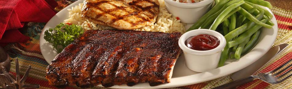 Ribs and Chicken Combo
