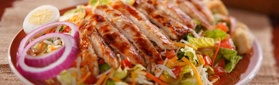 Mesquite Grilled Chicken Salad